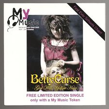 Betty Curse - Girl with Yellow Hair - Met On The Internet - 2 Track CD 2006
