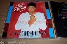 Toni Braxton NM Promo 4 Track CD I Belong To You + The Christmas Song