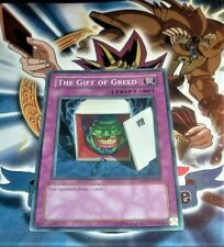 Yugioh The Gift of Greed TAEV-EN079 NM/MINT 1X Common Unlimited