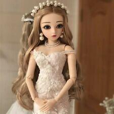 New. 60cm doll! (1/3) full set BJD faceup fashion shoes wig & eyes