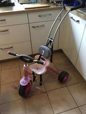 Hauck Kinder Dreirad mit Schiebestange, Anschnallgurt