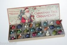 24 Bethany Lowe Tiny 3/4-1 Inch Feather Tree Ornaments NEW IN BOX Sold Out! rare