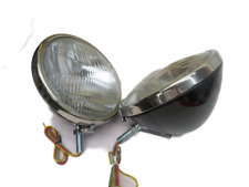 NEW 1933 1934 Ford Pickup headlamps PAIR 6 Volt 46-13000-2S