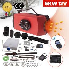 5kW / 5000W 12V Calefactor Calentador de Aire LCD Fuel diesel Air Parking Heater
