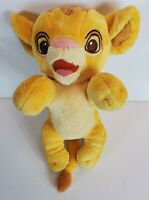 Disney Parks Babies Simba The Lion King Movie Plush Toy Stuffed Animal 12""