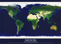 POSTER : NATURE : EARTH BY DAY -    FREE SHIPPING !  #PP0439  RW8 A