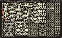 Alliance Model Works 1:35 German WWII Figure Detailing Set LW35064*