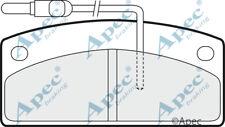 Pastillas de freno frontal para MICROCAR VIRGO Genuino APEC PAD1430