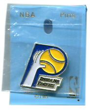 "VINTAGE 1985 INDIANA PACERS NBA BASKETBALL TEAM 1"" PIN BUTTON LICENSED"