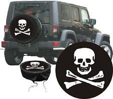 Skull Pirat JOLLY ROGER Motif Voiture Jeep Prime Les Housses De Pneus Référence