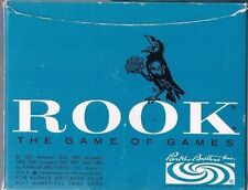 Vintage Rook The Game of Games with Rules Booklet Parker Brothers 1963