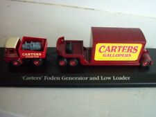 ATLAS  EDITIONS ,THE GREATEST  SHOW ON  EARTH , FODEN ,,, CARTERS  STEAM  FAIR !