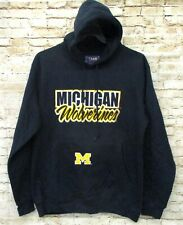 Michigan Wolverines Team Edition Mens Navy Blue Hoodie Medium Brand New