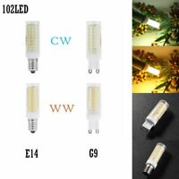 10W Dimmable Ceramic Corn Light SMD2835 102LED Bulb for Crystal Chandelier