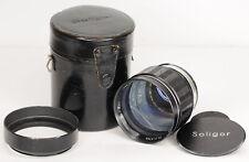 Soligor 135mm f/1.8  Pre-set  Aperture Lens with Nikon F Mount (5107BL)