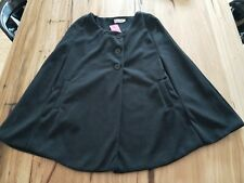 Brand NEW Black Poncho Jacket with Pockets - Size: S (Brand New with Tag)