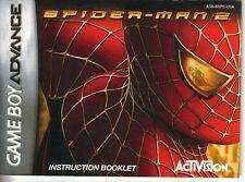 - SPIELANLEITUNG für Spider-Man 2 - Game Boy Advance Spiel -