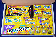 American Candy Gift Box - USA Sweets - Birthday Gift - Wonka Nerds - Gobstoppers
