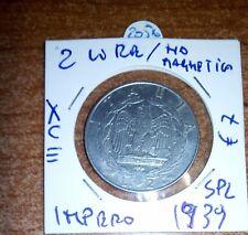 2 LIRE IMPERO NON MAGNETICA 1939 N.2056