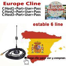 3CLINES CCCAM - ESPAÑA 100% ESTABLE CCCAM - ENVIO INMEDIATO CCCAM