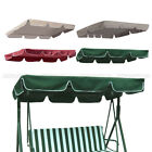 Swing Top Seat Cover Canopy Replacement Porch Patio Outdoor 66x45 75x52