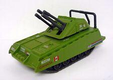 """GI JOE ARMADILLO Vintage Action Figure Vehicle Tank 7"""" COMPLETE 1985"""