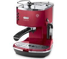Delonghi ICONA micalite ecom311. R café espresso Machine-Rojo