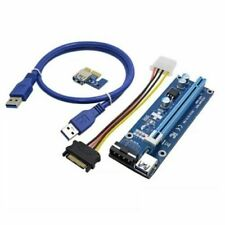 AKORD 6pin PCI-E Express 1x To 16x GPU Extender Riser Card Adapter Cable USB 3.0