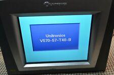 Unitronics Color, Touchscreen HMI-PLC   V570-57-T40B