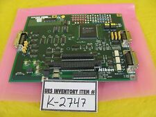 Nikon 4S018-766 Driver Interface Board PCB IU-DRV5 H=10.0mm Used Working