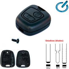 CARCASA para MANDO LLAVE CITROEN Berlingo C1 C2 C3 sin espadin - key shell case