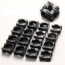 200pcs Li-ion 18650 Battery Holder Safety Spacer Radiating Bracket Storage Shell