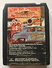 The Allman Brothers Band 8 Track Wipe the Windows Check the Oil Dollar Gas - Ex