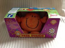 MR MEN PERSIL MR TICKLE WITH TICKLING ARMS SOFT PLUSH TOY BOXED WORKING