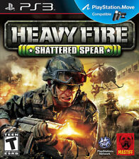 Heavy Fire: Shattered Spear PS3 New PlayStation 3, Playstation 3