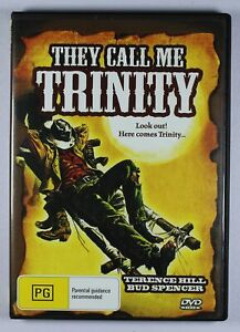 They Call Me Trinity DVD FREE POST