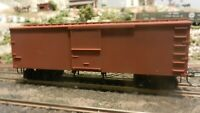 Roundhouse MDC HO Old Time 36' Truss Rod Boxcar, Unlettered, Upgraded, Exc.