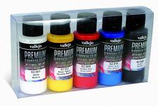 Vallejo Pintura Set VAL62101-Premium Color 60ml Set-Opaca Colores (5 X 60ml)