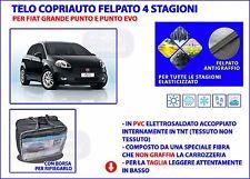 Telo copri auto copriauto Fiat Grande Punto felpato impermeabile PVC Taglia M