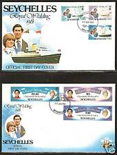 Seychelles Princess Diana Royal Wedding First Day Cover