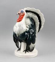 9941207 Porzellan Figur Truthahn Pute Vogel Ens 24x15cm