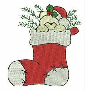 1028:  Machine Embroidery Designs - Christmas 2004
