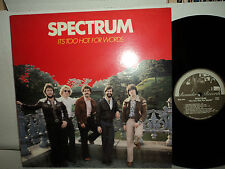 "BELA FLECK JIMMY GAUDREAU ""SPECTRUM"" ITS TOO HOT FOR WORDS - ROUNDER RECORDS LP"