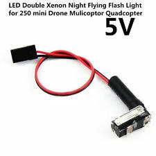 5V LED  Xenon Night Flying Flash Light for RC210/250 Drone Mulicoptor Quadcopter