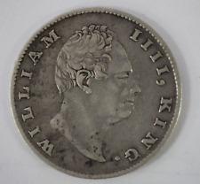 1835 East India Company British Silver 1 Rupee Coin - WILLIAM IV