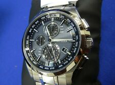 CITIZEN AT8040-57E ATTESA Titanium Eco-drive Photovoltaic Watch Japan model New