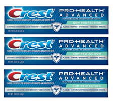 Crest Pro-Health Advanced Toothpaste, Gum Protection, 0.85 oz (3 Pack)