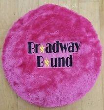 New Dance Stool Cover Furry, Broadway Bound Embroidery fits Dream Duffel Stools