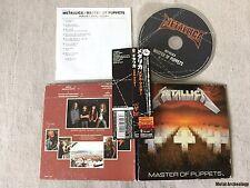 Metallica - Master Of Puppets JAPAN MINI LP CD 2006 (UICR-1054) OBI OOP