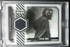 Star Wars Rise Skywalker Series 2 COSTUME RELIC KYLO REN CLOAK HOOD LINING 18/25